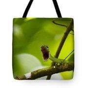 Panacam Green Snake Tote Bag