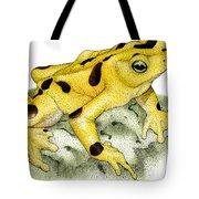 Panamanian Golden Frog Tote Bag