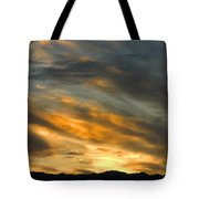 Panamint Sunset Tote Bag