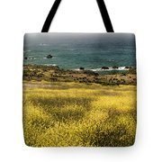 Panarama Spring On Califronia Coast By Denise Dube Tote Bag