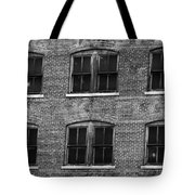 Pancake Flour Black And White Tote Bag