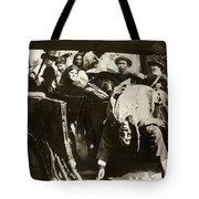 Pancho Villa Ambushed July 20 1923 1923 Dodge Touring Car 1923-2013 Tote Bag