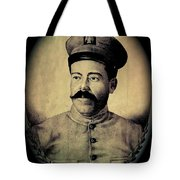 Pancho Villa In Military Uniform Drawing No  Date-2013  Tote Bag