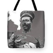 Pancho Villa  Portrait In Military Uniform No Location Or Date-2013 Tote Bag