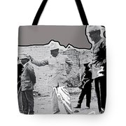 Pancho Villa  Shooting Pistol Mexico City 1914-2013 Tote Bag