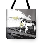 Pancho Villa Talking To Firing Squad Sonora C.1914-2013 Tote Bag