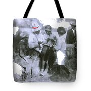 Pancho Villa With Children #1  Durango C. Tote Bag