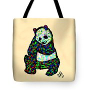 Panda A La Fauvism Tote Bag