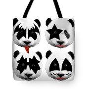 Panda Kiss  Tote Bag