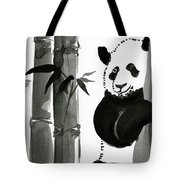 Panda Papa Bear Tote Bag
