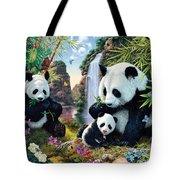 Panda Valley Tote Bag