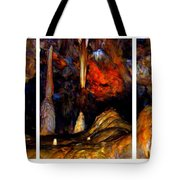 Panels Of A Cave Tote Bag