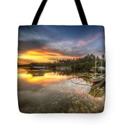 Panglao Port Sunset Tote Bag