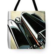 Panhard Car Advertisement Tote Bag