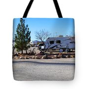 Panorama Cedar Cove Rv Park Street 2 Tote Bag