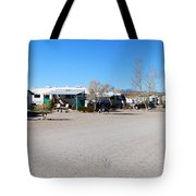 Panorama Cedar Cove Rv Park Street 4 Tote Bag
