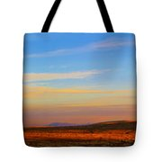 Panorama City Of The Rocks Look Out Mountain Tote Bag