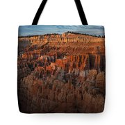 Panorama Of Bryce Canyon Amphitheater Tote Bag
