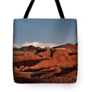 Panorama Of Goblin Valley State Park Utah Tote Bag