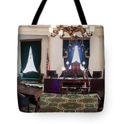 Panorama Of The Vermont State House Montpelier Vermont Tote Bag