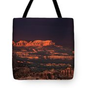 Panorama Rainbow Bryce Canyon National Park Utah Tote Bag