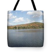Panorama Red House Lake Allegany State Park Tote Bag