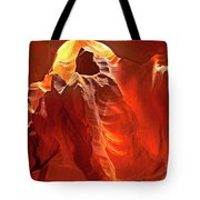 Panorama Slot Canyon Arizona Tote Bag