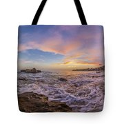 Panorama The Whole Way Round The Cove Tote Bag