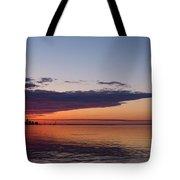 Panorama - Toronto Sunrise In June  Tote Bag
