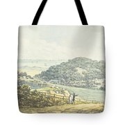Panoramic After View, From The Red Book Tote Bag