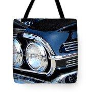 panoramic black Impala Tote Bag