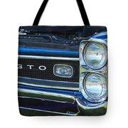 panoramic blue GTO Tote Bag