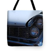 panoramic blue Lincoln Tote Bag