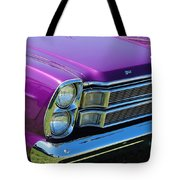 panoramic Ford Galaxie Tote Bag