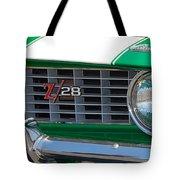 panoramic green Z28 Tote Bag
