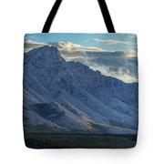 Panoramic Image Of Royal Mountain Tote Bag