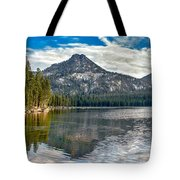Panoramic Of Anthony Lake Tote Bag