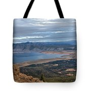 Panoramic Of Henry's Lake Tote Bag