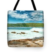 Panoramic Photo Of La Perouse Tote Bag