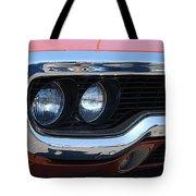 panoramic Plymouth GTX Tote Bag