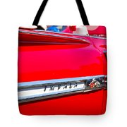 panoramic red Impala Tote Bag