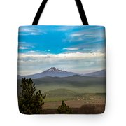Panoramic View Of The Cascades Tote Bag