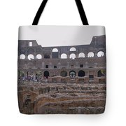 Panoramic View Of The Colosseum Tote Bag