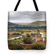 Panoramic View Of The Ile-de-france Tote Bag