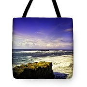 Panoramic View Of The Pacific Ocean Tote Bag