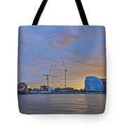 Panoramic View Of The Shard, City Hall Tote Bag