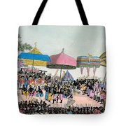 Panoramic View Of The Yam Custom Tote Bag