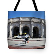 panoramic View of Union station in Washington DC Tote Bag