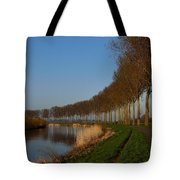 Panoramic View On Pottes - Belgium Tote Bag