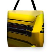Panoramic Yellow Duster Tote Bag